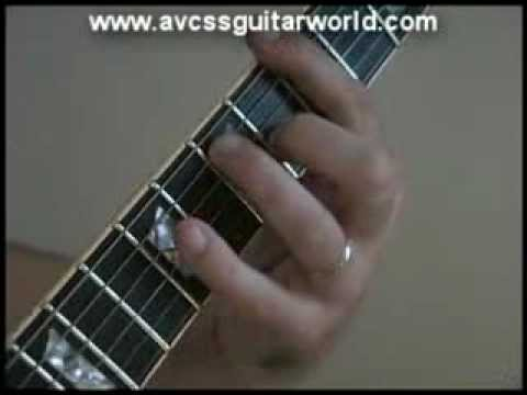 Guitar Lesson for Beginner Guitar Players - Johnny B Goode Style Chord Progression