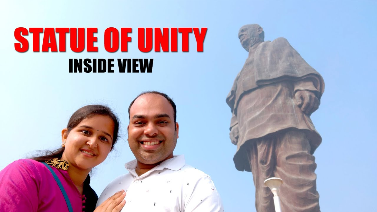 ಬನ್ನಿ ಒಳಗೇನಿದೆ ನೋಡೋಣ Statue of Unity Inside View [Kannada Travel Vlogs] - Mr and Mrs Kamath