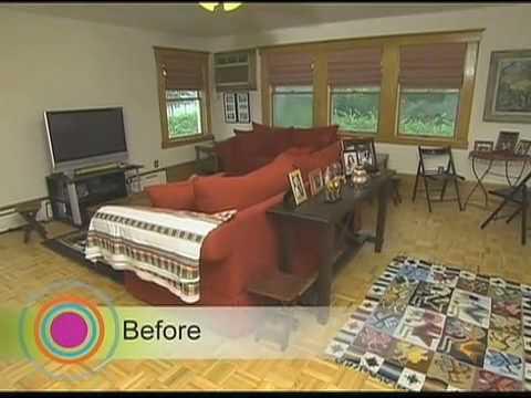 HGTV: Living Room Redesign - Peruvian Fun Room - YouTube
