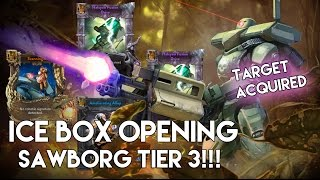 Vainglory - ICE Box Opening: Target Acquired for Saw |Sawborg| Tier 3