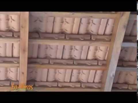 Techo tejas vistas en quincho jorge londero maderas sucre for Como hacer un techo de madera
