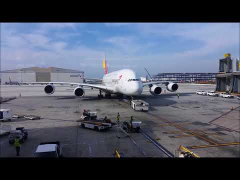 Airbus A380 Update- Future Production Doomed? LAX 16 Jan 2018