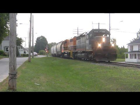 Vidéos de trains #20 : Divers trains de diverses régions au Québec