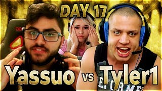 Yassuo Gets Arrested by D1 Police | YASSUO VS TYLER1 - $10K BET: DAY 17