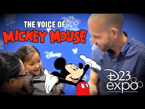 TTL Nerd | Bret Iwan - The Voice of Mickey Mouse at D23 Expo