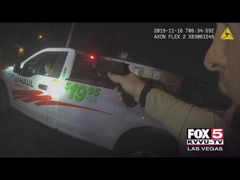 Las Vegas Police Release Video In Friday Police Shooting