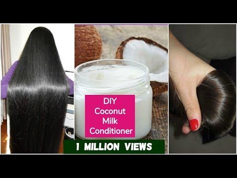 DIY Coconut Hair Conditioner For Silky Hair   Sushmita's Diaries