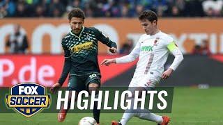 Video Gol Pertandingan FC Augsburg vs Borussia Monchengladbach