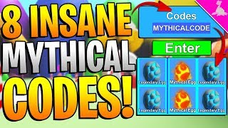 8 ROBLOX MINING SIMULATOR SECRET MYTHICAL CODES! *INSANE ITEMS*
