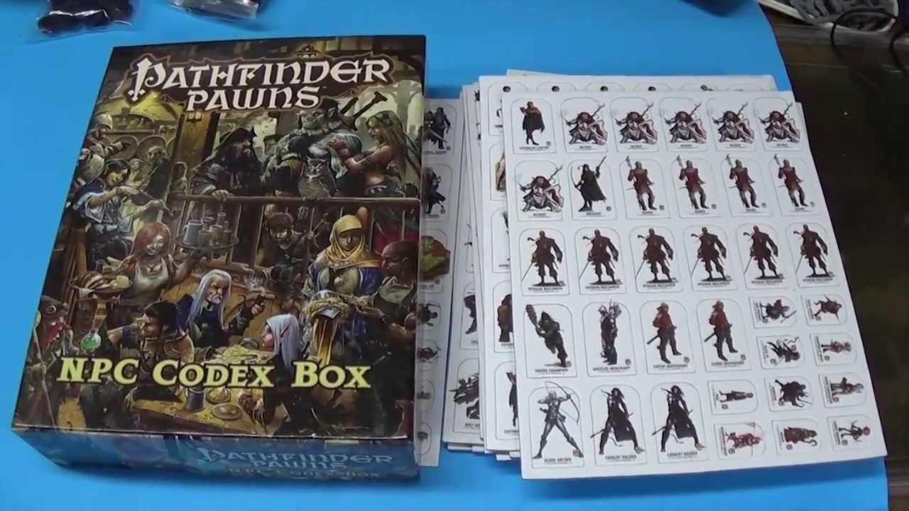Pathfinder NPC Codex Pawns Review