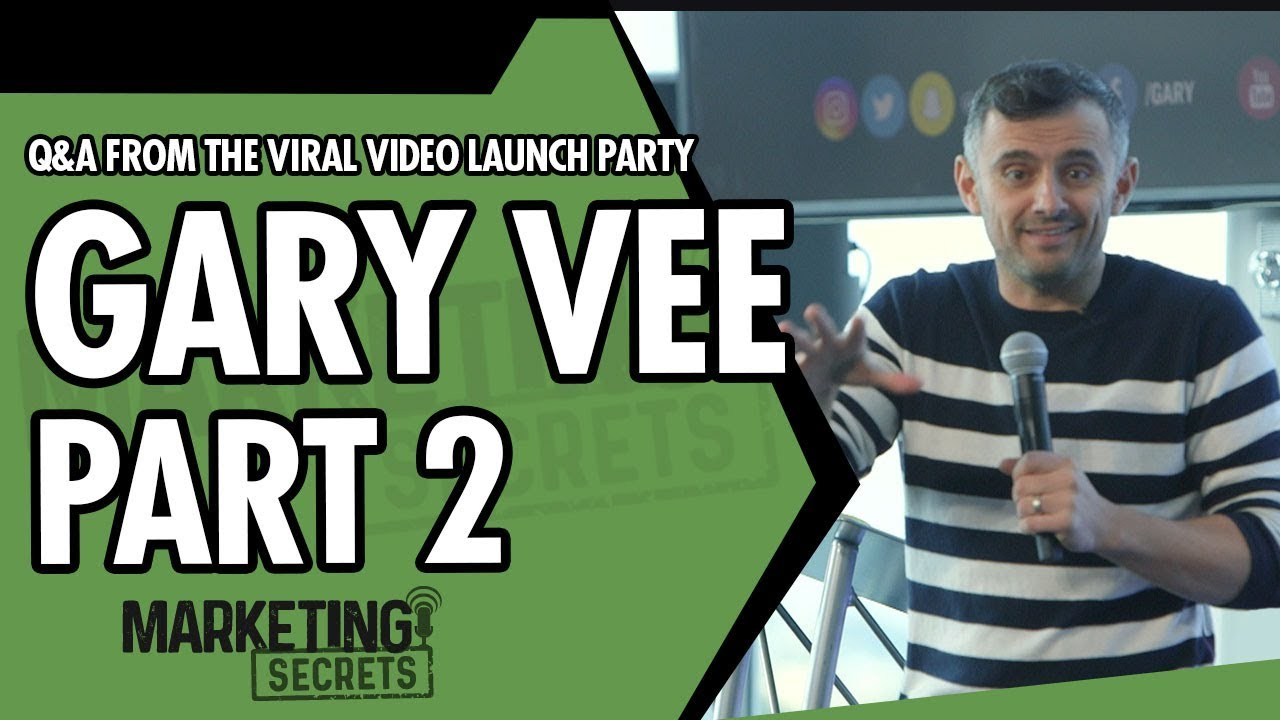 Gary Vee Q&A From The Viral Video Launch Party - Part 2