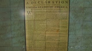 Inside the Declaration of Independence signing