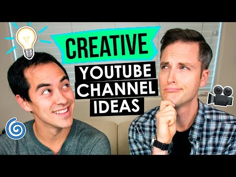 Creative YouTube Channel Ideas — 5 Channel Ideas for YouTube