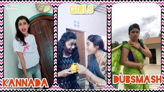 Kannada Girls in Musically | Kannada Dubsmash | Tik Tok Kannada 2018