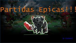 """""""Partidas epicas y sin lag!!!"""" Happy Wars (Gameplay Español)"""