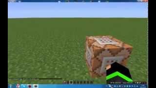 minecraft 1.5.2 как получить командный блок? И как сделать батут?