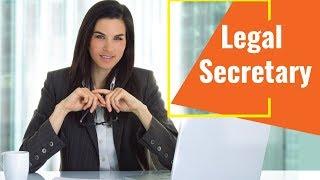 Legal Secretary - Video Training Course | John Academy