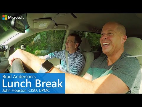 Brad Anderson's Lunch Break / s7 e11 / John Houston, CISO, UPMC