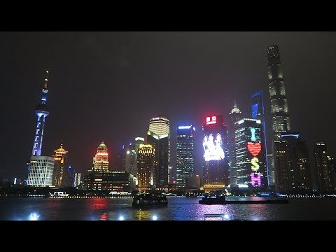 Stunning Shanghai Skyline at Night