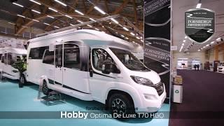 HOBBY OPTIMA De Luxe T 70 HGQ, årsmodell 2019.