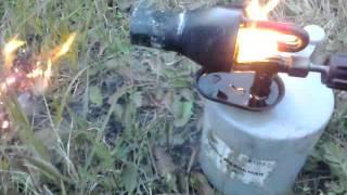 Розжиг паяльной лампы на смеси бензина и отработки 1:1(, 2015-10-30T10:33:56.000Z)