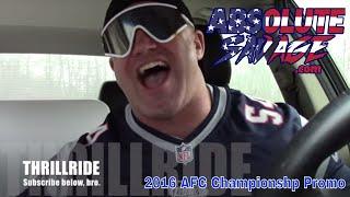 2016 AFC Championship Promo - One Man Thrill Ride