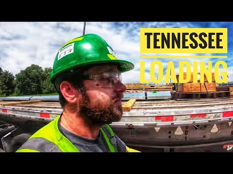My Trucking Life | TENNESSEE LOADING | #1796
