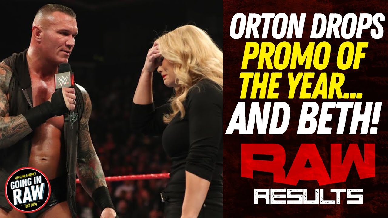 WWE Raw results: Randy Orton RKOs Beth Phoenix, explains Edge ...