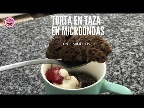 Cómo hacer mugcake: torta en taza