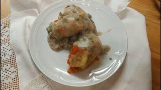 Голубцы с грибами постные  #пошаговый рецепт голубцов,#рецепт голубцов, #как готовить голубцы.