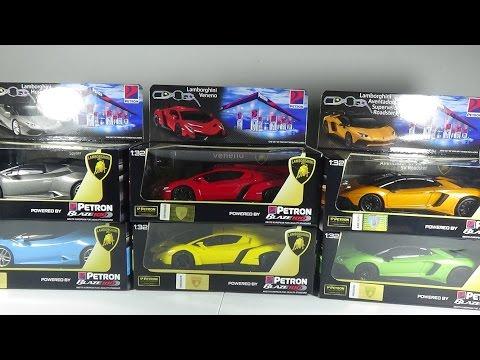 Petron Key To Lamborghini Complete Set - Lamborghini Aventador, Veneno, Huracan