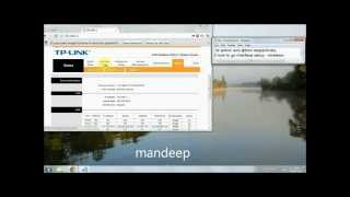 how to change user name and password in tp link modem