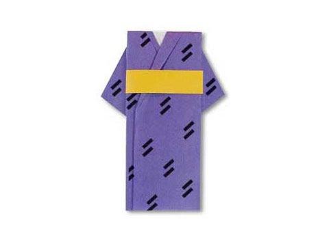 Cách gấp, xếp áo kimono bằng giấy origami - Video hướng dẫn