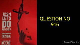 Class-12 | Current Electricity question no.916