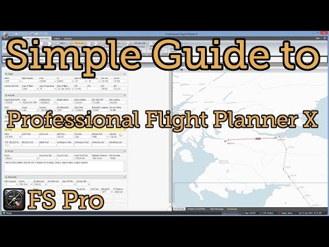 A Basic Guide For Professional Flight Planner X