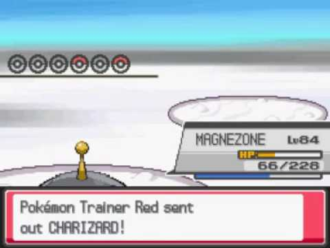 Pokemon Heart Gold - Rematch With Pokemon Trainer Red