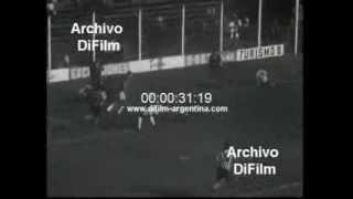 DiFilm - Estudiantes de La Plata vs Colon de Santa Fe (1967)