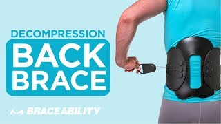 Lumbar Back Belt Brace for Post Surgery Laminectomy Recovery & Lower Back Pain