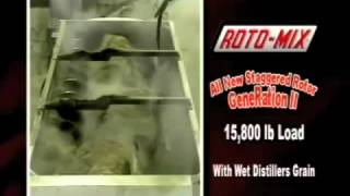 Roto-Mix Staggered Rotor Generation II Feed Mixer