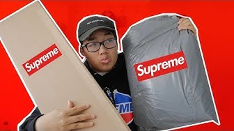 XXL 700€ SUPREME  UNBOXING😱🔥