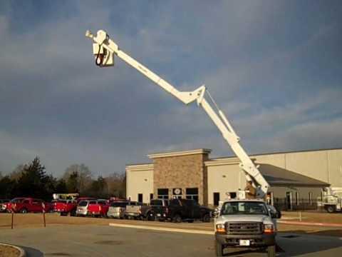 Fleet Truck Sales >> (Stock # 8272) - 2000 Ford F550 4x4 - LIft-All LAHM-37 Bucket Truck - YouTube