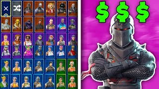 Mon Fortnite LOCKER entier! TOUS MES SKINS - PLUS! (Fortnite Battle Royale Locker)