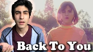Back to You (Music Video) - Selena Gomez [REACTION]