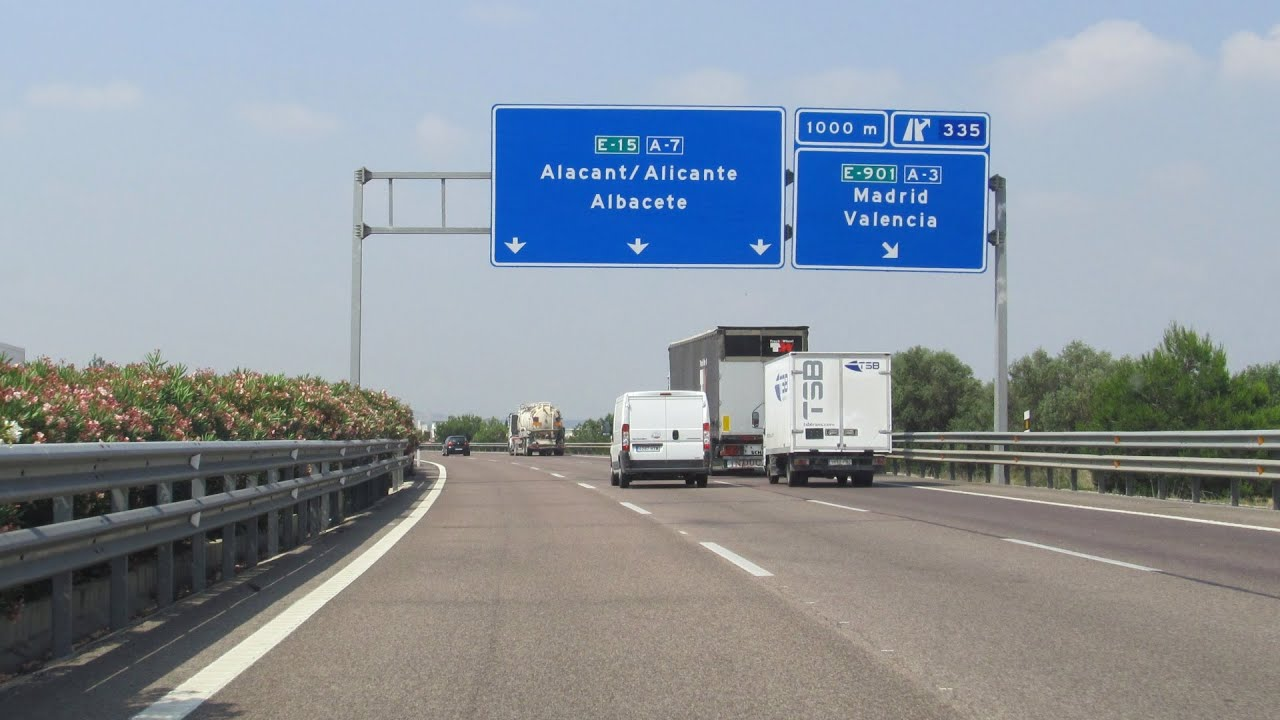 Spain A7 around Valencia  YouTube