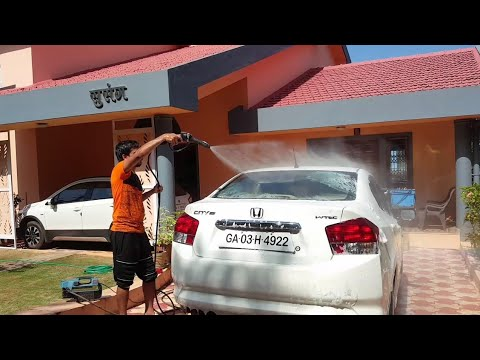 Honda city | car wash | Nitto Rai | love you technical Guruji