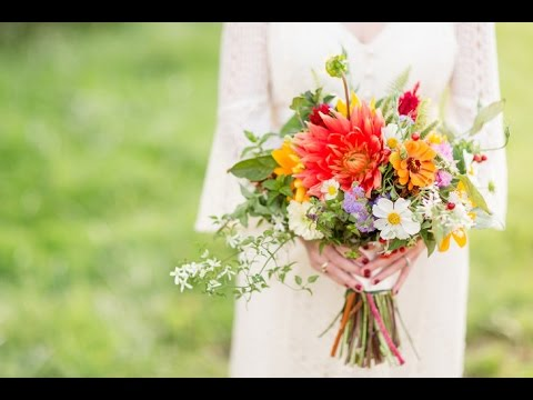 wildflower bouquets for weddings colorful wildflower wedding bouquet 1411