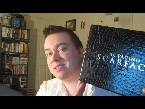Scarface Dvd Deluxe Gift Set Box Unboxing Review