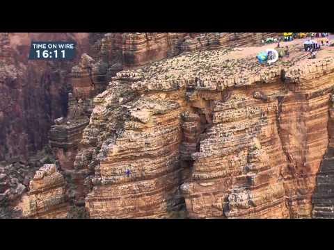 Nik Wallenda Grand Canyon wirewalk