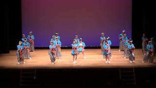 第56回富山まつり 富山県民会館 ホール こまつ華舞妓さんの演舞。
