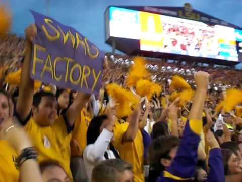 LSU Neck.  '09 LSU vs. Florida.